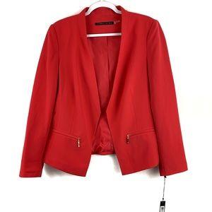NWT Ivanka Trump Pink Open Front Tuxedo Blazer 14